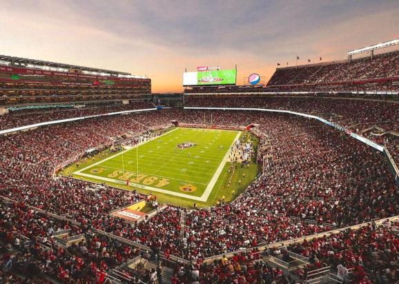 Levi's Stadium Overhead