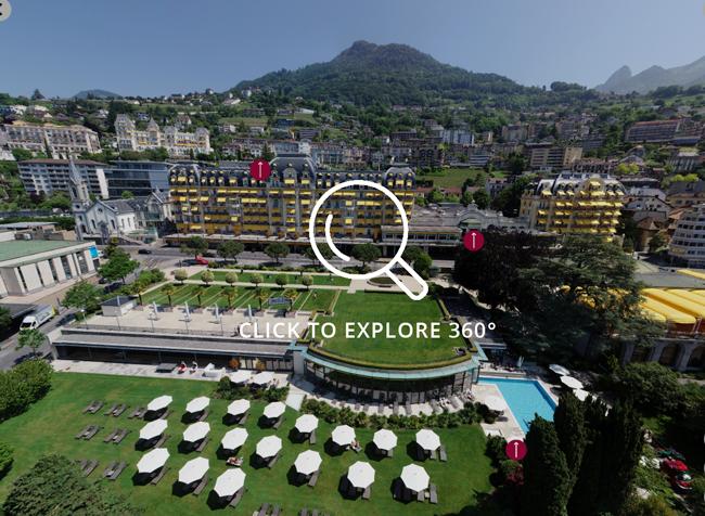 Fairmont Le Montreux Aerial 360 - Click to View